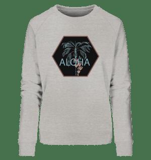 Find your Aloha grau - Organic Sweatshirt Ulala Vienna