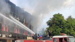 Kebakaran Pertokoan di Abepura Jayapura, Tiga Orang Tewas