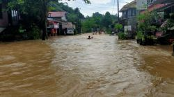 Hujan Deras, Kota Samarinda Dikepung Banjir