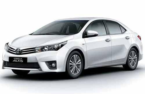 Toyota Collora Altis