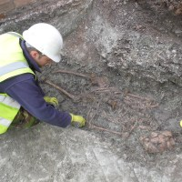 Excavation of Roman Cemetery in Leicester up for Current Archaeology Award