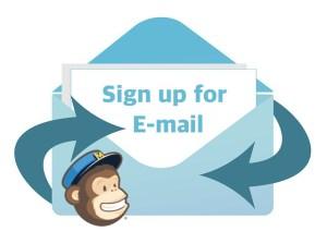 MailChimp Signup