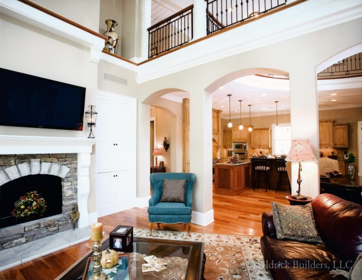Custom Home - Living Room