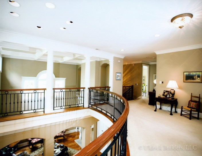 Custom Home - Upstairs Hall