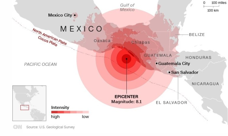 9.9.17 - Erdbeben Mexico