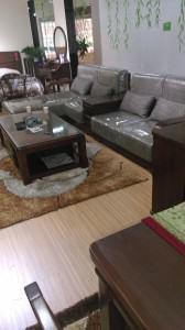 Sofa & Couchetisch