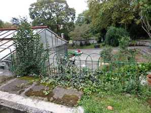 Barandilla del siglo XIX de Donostia en el parque de Viveros de Ulia