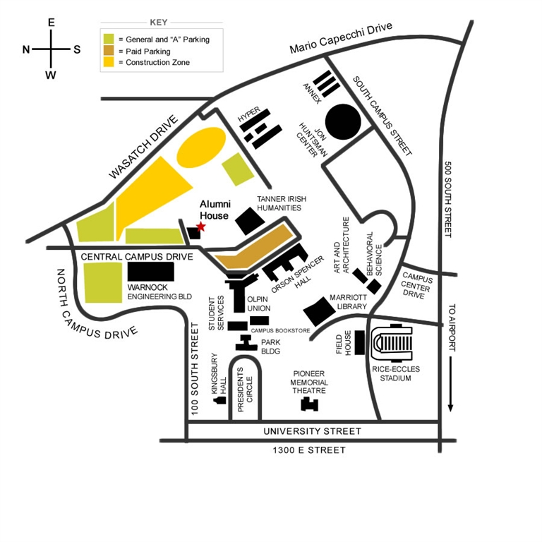 Simple Campus Map