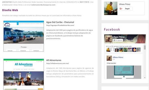 Por qué tu negocio aquí en Chetumal debe tener una página web