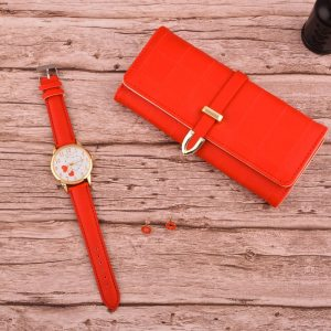 Women's Fashion Quartz Watch Wallet Earrings 3pcs set Gift Box Mother's Day Christmas New Year Gifts Ladies watches Gift Sets