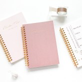 2020 New stylish good quality paper journal planners and notebooks