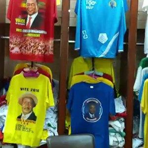 Cheap Election campaign t-shirts Kenya Printing