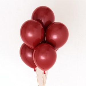 2.3g Double-layer ruby Latex balloon Wedding room decoration Kenya