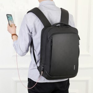 Custom logo laptop usb charging backpack travel multifunctional polyester backpack with laptop bags backpack