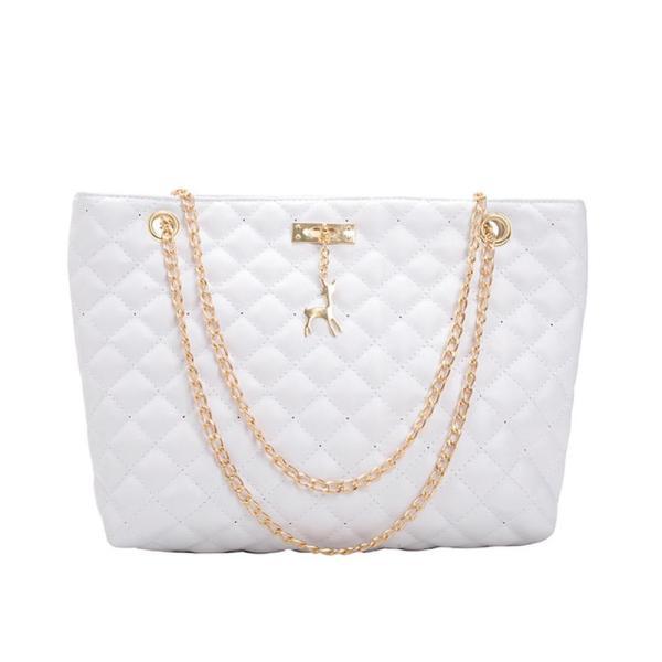 Fashion PU Leather Chain Bag Handbag Women Large Top-handle Bags Shoulder Totes Sac A Dos Bolsas Feminina Mujer Sac A Main