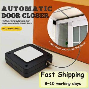 Door Closer Punch-Free Automatic Door Closers For Drawers Rawstring Door Closer Bracket Door Automatic Closer