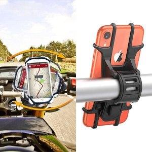Universal Motorcycle Handlebar Bracket Universal Motorcycle Handlebar Rotating Bracket Phone Holder For Phone On Bike
