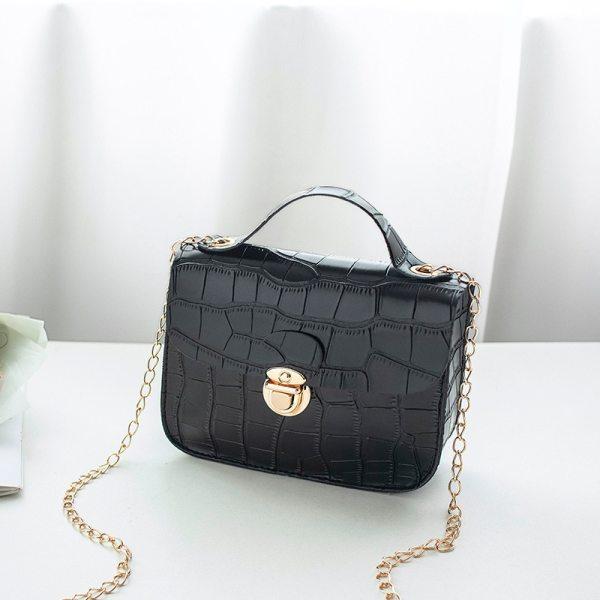Women Small Crossbody Crocodile Design Bag