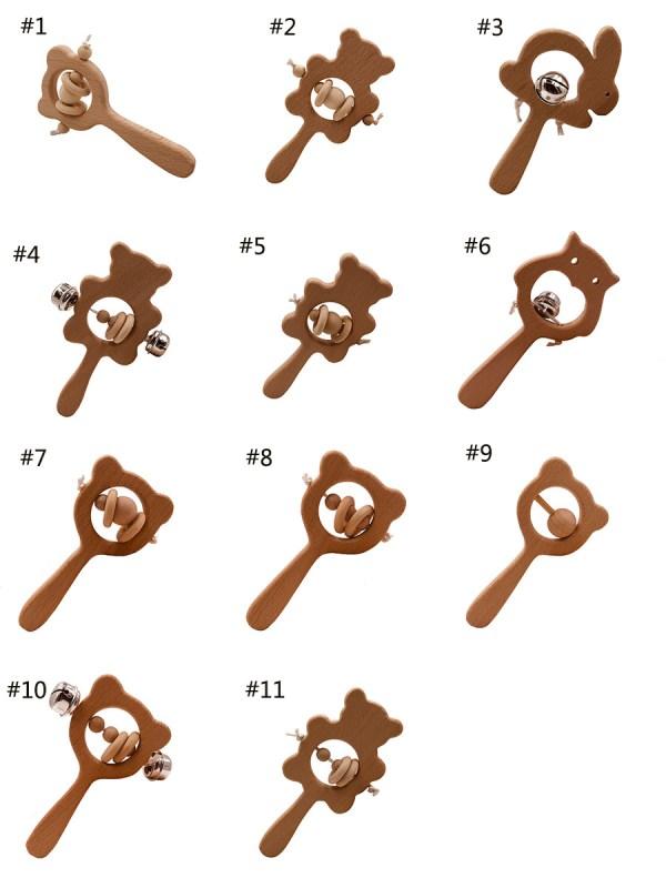 Baby Teether Elm Wooden Toy Kenya