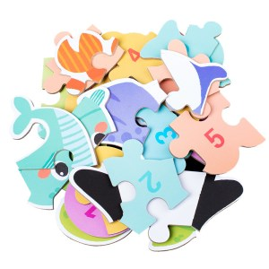 Hot sale factory price 3D wooden animal jigsaw puzzle educational toys for baby