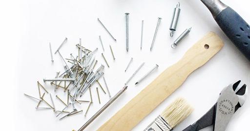 Minimalisti järjestää työkalut