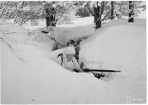 In the front line - Finns in winter camouflage