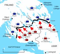 Soviet attacks against the Line