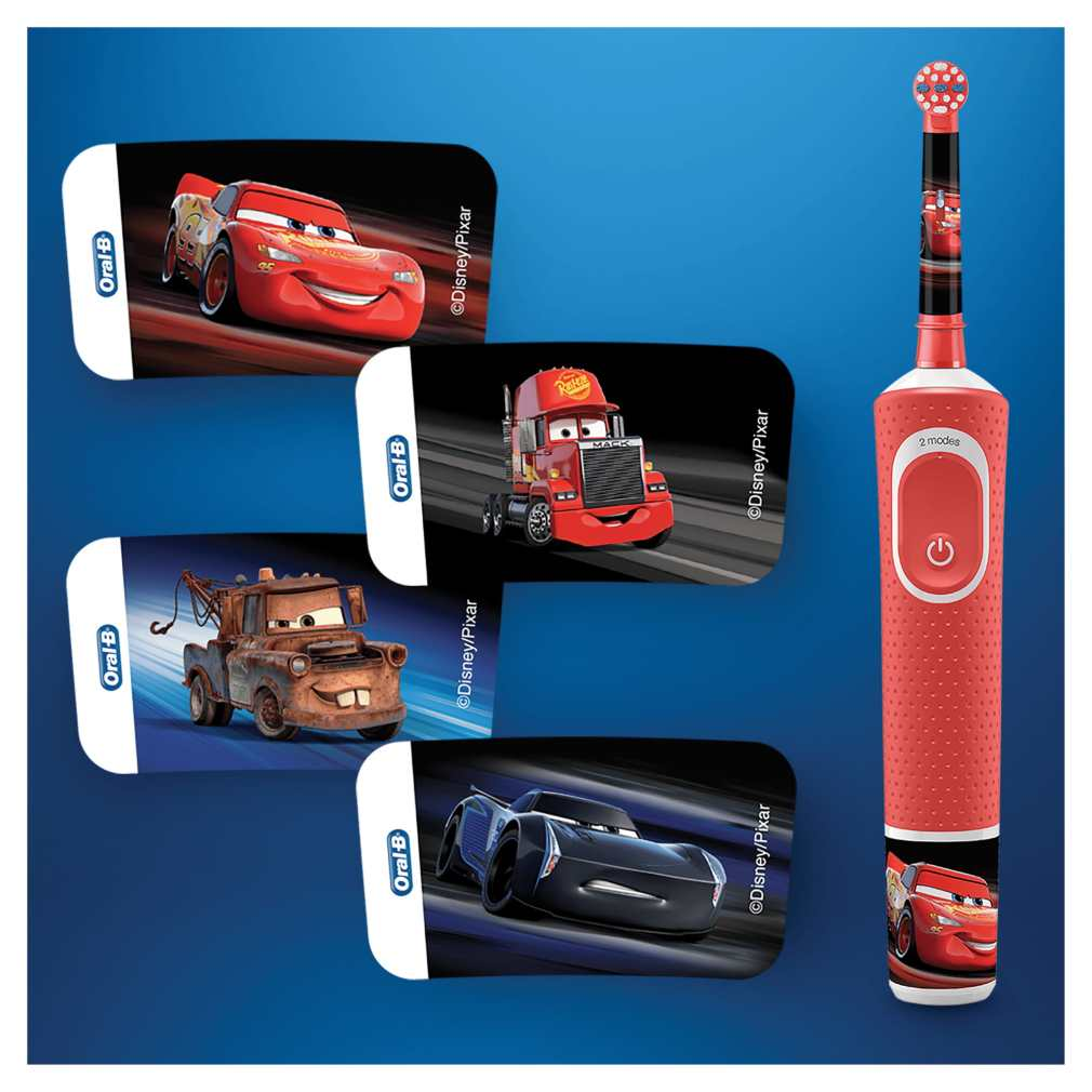 ullrichstore.com Oral-B Vitality 100 Kids Cars, CLS Farbe rot5