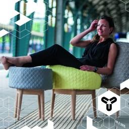 """Die wahrscheinlich gemütlichsten Hocker EVER sind die von Produkt Designerin Véronique Baer! Unter dem Namen BOUNCE FAMILY gestaltet die gebürtige Schweizerin Hocker, die sich jedem Körper anpassen und danach wieder in ihre ursprüngliche Form """"bouncen"""". Sehr schick und sehr bequem! www.facebook.com/ProductDesignVeroniqueBaer www.veroniquebaer.com/bounce-family"""