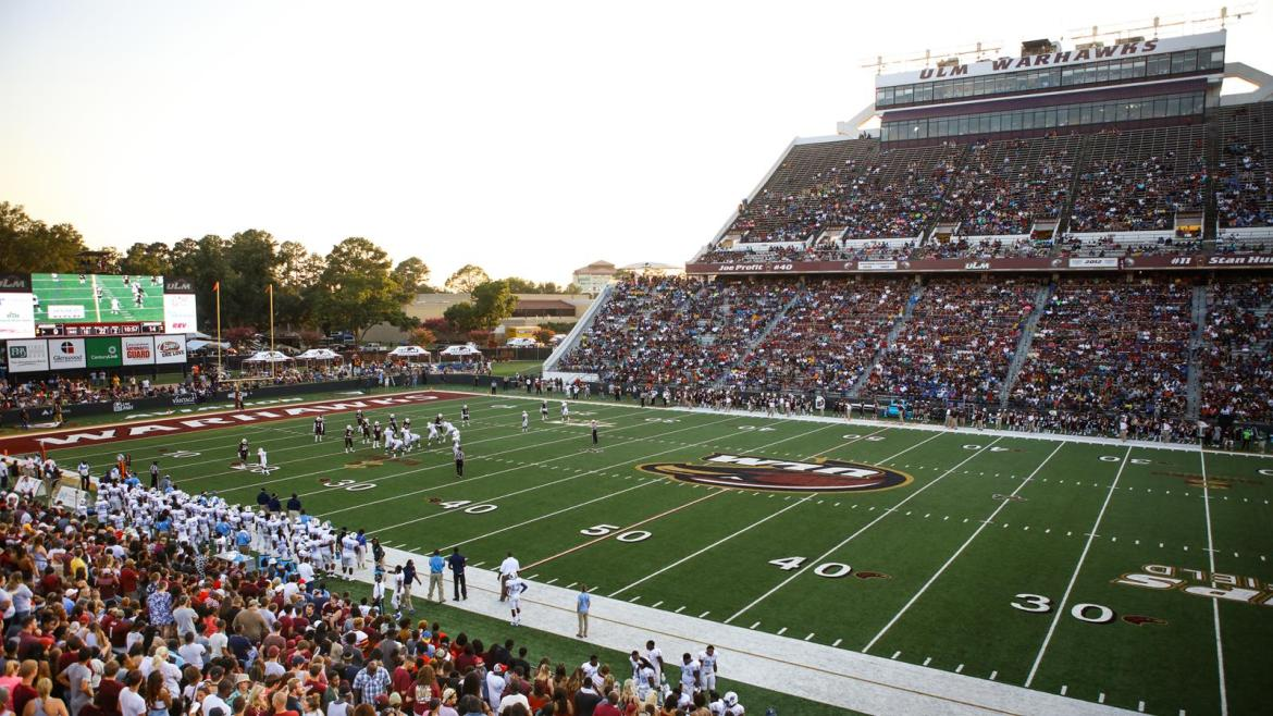Malone Stadium - Facilities - University of Louisiana Monroe Athletics