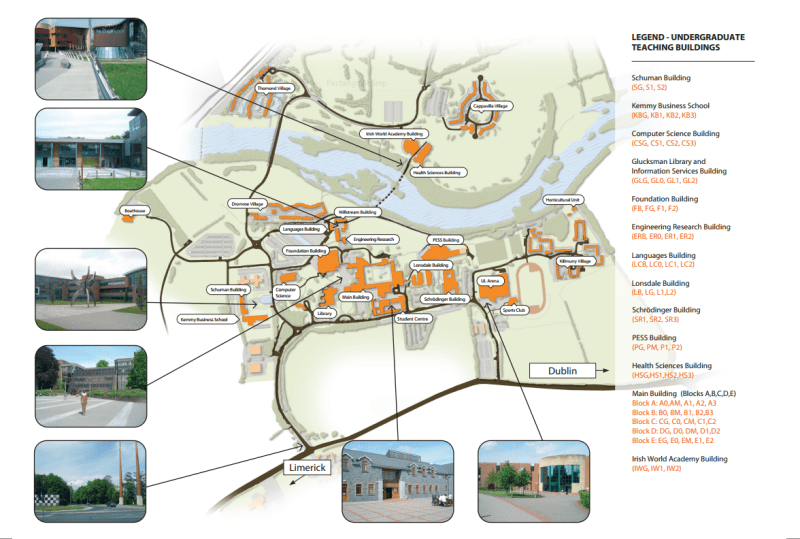 Map of UL