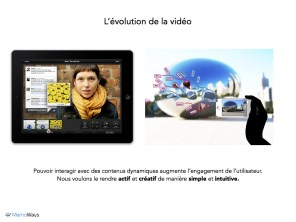 Evolution of Video: interaction