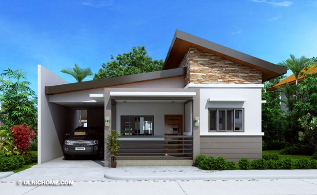 Modern Three Bedroom Small House Design Ulric Home