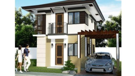 That Simple but Sophisticated Exterior of a Double storey Modern House Design Ulric Home