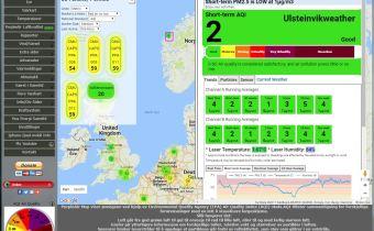 PurpleAir Sensor: Luftkvalitetsovervåking i Ulsteinvik.