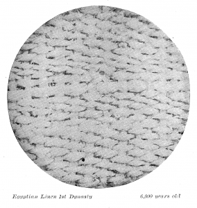 Egyptian Linen 1st Dynasty