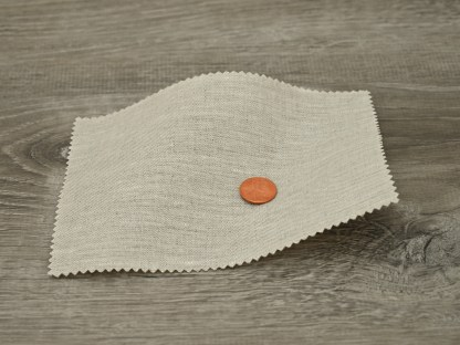 Medium Weight Chambray Oatmeal Linen fabric