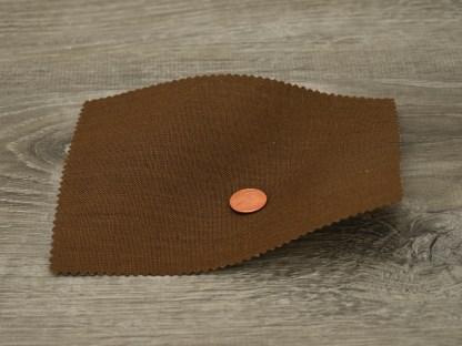 Medium Weight Chocolate Linen fabric