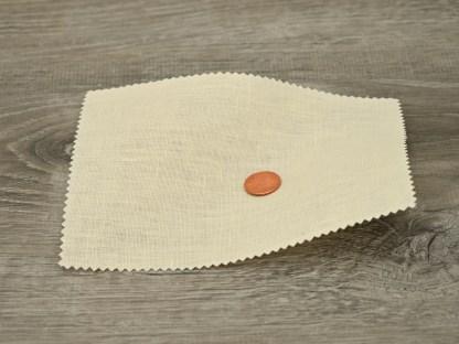 Medium Weight Ecru Linen fabric