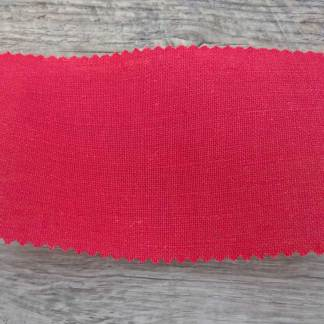 Red Linen Poly Fabric