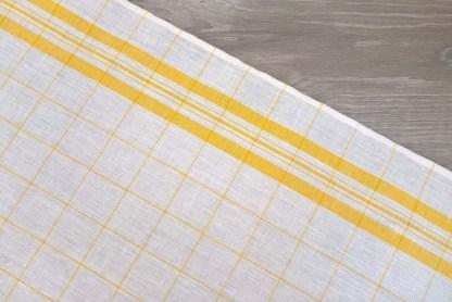 Yellow Windowpane Toweling