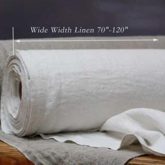 "Wide Width Linen 70""-120"""
