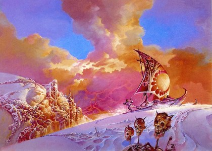 Cover for Gene Wolfe, The Island of Dr Death and Other Stories and Other Stories, (c) Bruce Pennington,