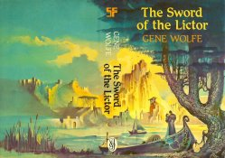 Cover of Gene Wolfe's Sword of the Lictor, art by Bruce Pennington