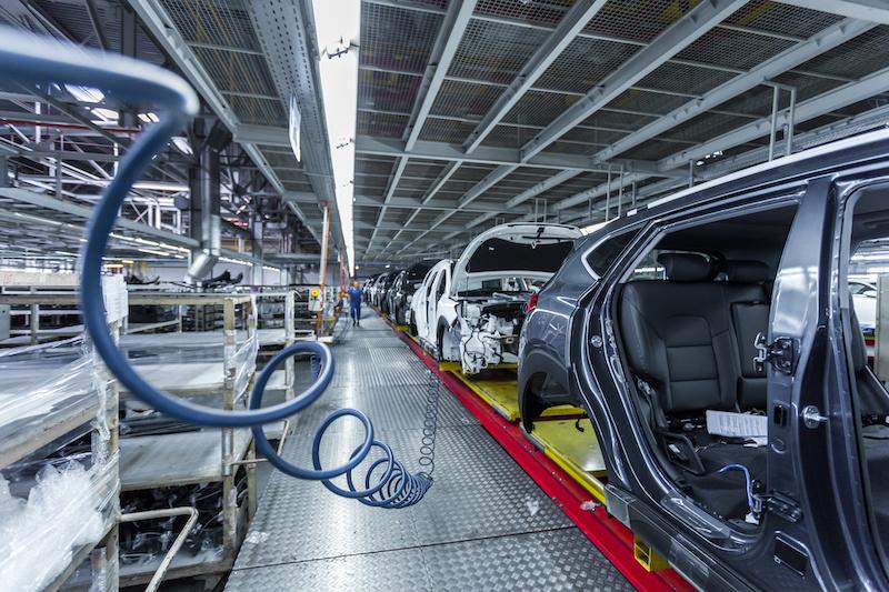 Trazabilidad de partes y piezas en la industria automotriz