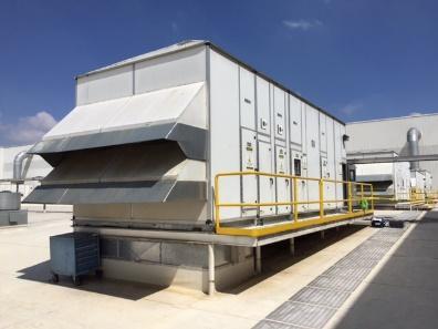 Ahorro energético en manejadoras de aire
