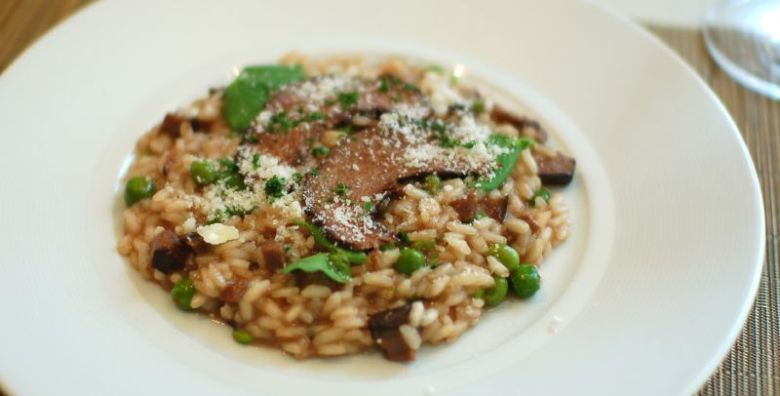 Beef Heart Risotto
