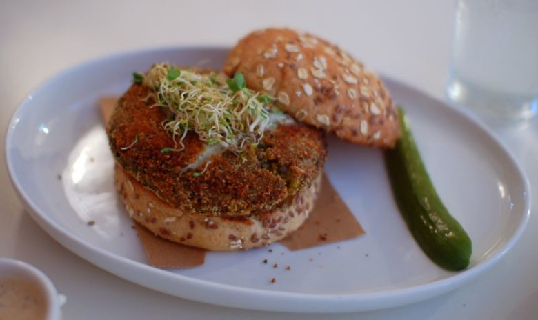 Spiced Lentil Burger