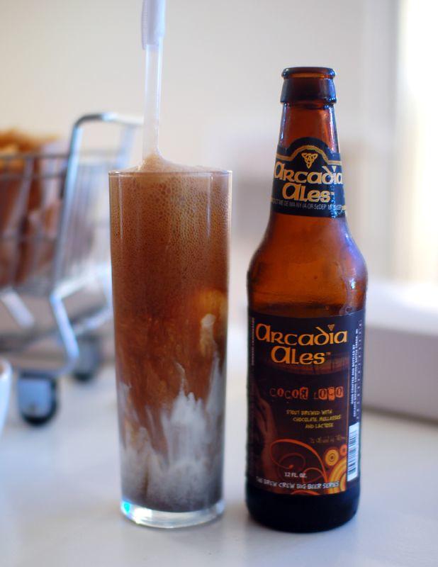 Arcadia Ale Coco Loco Float