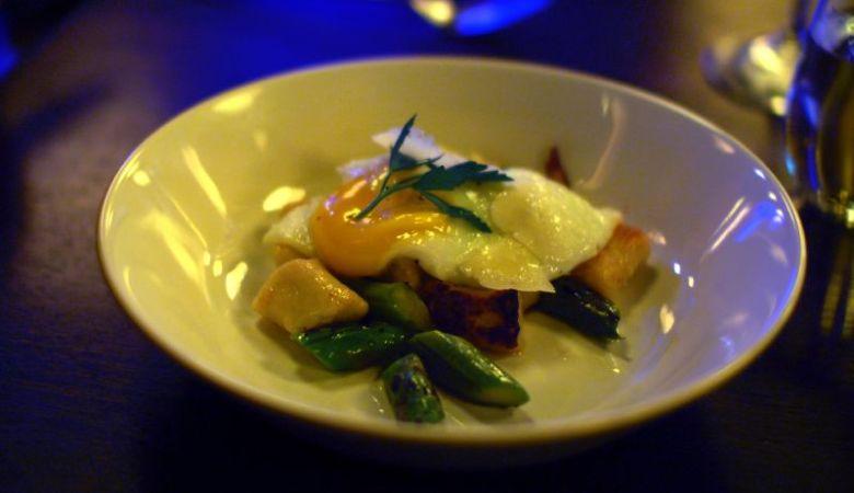 truffled potato gnocchi